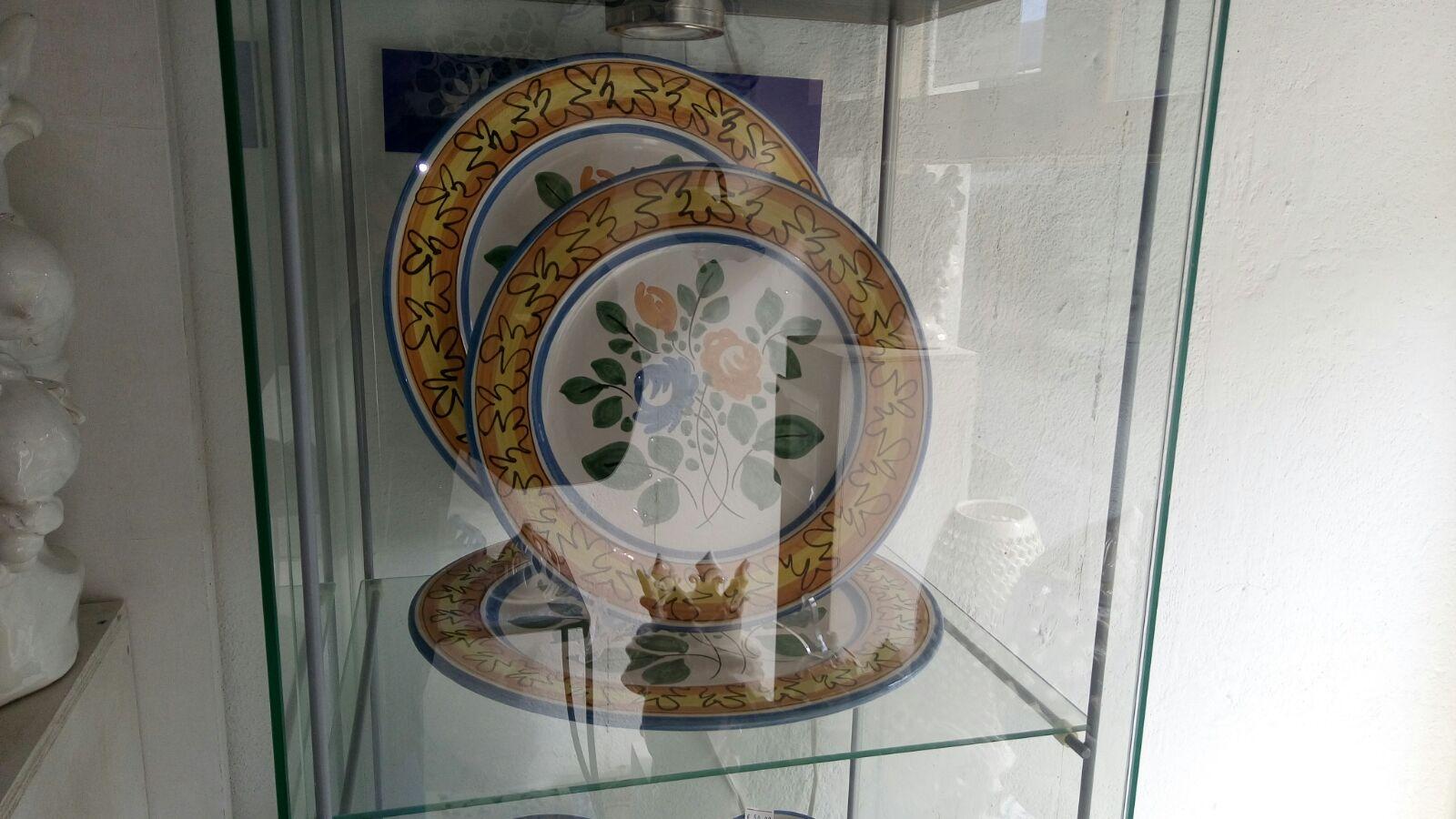 Piatti ceramica eoliana